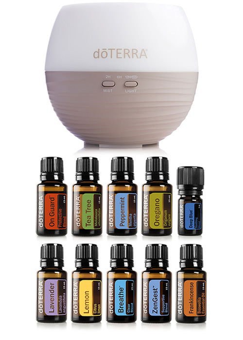 essential oil home kit
